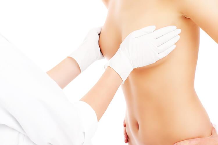 Подтяжка груди с одномоментным увеличением